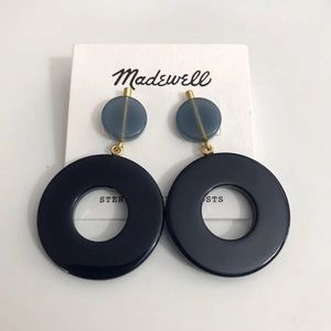 Madewell Circle Statement Earrings NWT - LAST